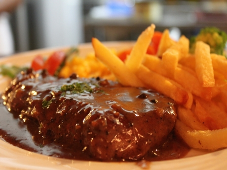 Fillet Pepper Steak